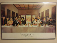Marilyn Monroe's Last Supper Poster