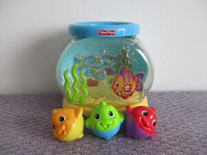 Aquarium  Fisher Price  Musical  Et  Lumineux