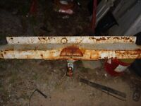 rear bumper off a southern 1963 chev truck very solid