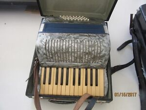 2 ACCORDIANS FOR SALE