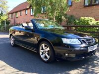 2006 SAAB 9-3 2.0 T CERULEAN VECTOR 2DR CONVERTIBLE! BEAUTIFUL EXAMPLE! DRIVES AND LOOKS PERFECT!