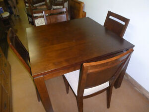 Dining table with chairs,
