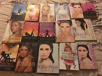 Katie price books - good condition