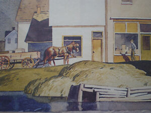 """A.J. Casson - """" Bobcaygon """" Limited Edition Print Kitchener / Waterloo Kitchener Area image 7"""