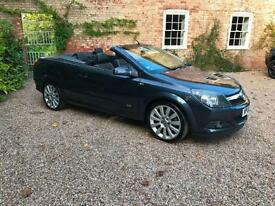 2006/06 Vauxhall/Opel Astra 1.9CDTi 16v Diesel (150) TWIN TOP CONVERTIBLE GREY
