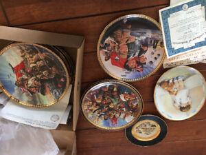 Collection assiettes Canada remembers
