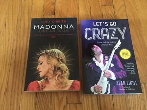 Madonna and Prince Books