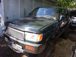 """1996 Toyota 4Runner 3.4L 4x4 3"""" Body + 3"""" Susp Lots of Parts Inc London Ontario image 4"""