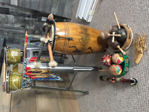 Drums And Tribal Paraphanelia