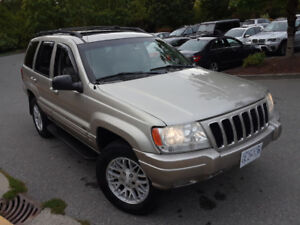 2003 Jeep Grand Cherokee Limited 4x4 Automatic