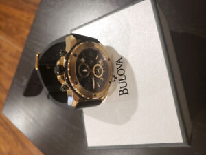 Mint Bulova Marine Star Rose Gold Chronograph Watch $275 OBO