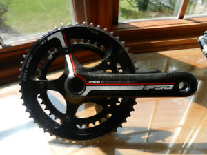 fsa slk carbon 53-39t crankset (pedalier) 170mm axe 24mm,630gr