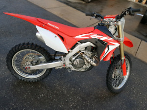 2017 HONDA CRF450RX FOR SALE OR TRADE