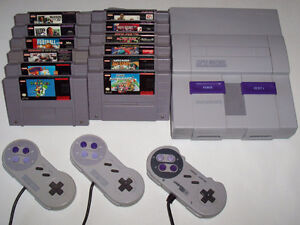 Looking to buy SNES with Games