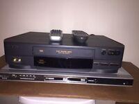 Lecteur DVD et un lecteur VHS fonctionne parfaitement