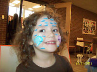 Face Painting , Balloons, Birthday Parties, Events, Courses.