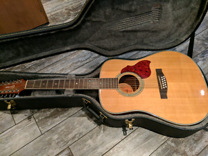 12 string Crafter guitar, mint condition