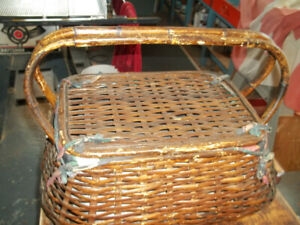 Antique Lady Rosedale picnic basket and other baskets