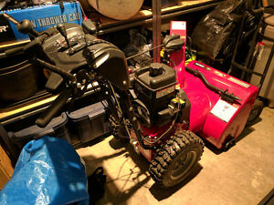 """Sears Craftsman Dual Stage Snowblower / Snowthrower 24"""" 11.5TP"""