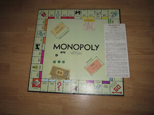 vintage family games:  Monopoly, Game of Life, Clue Windsor Region Ontario image 1