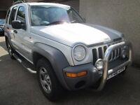 Jeep Cherokee 2.4 SPORT - CAR NOW SOLD - (silver) 2002