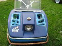 Vintage Snow Cruiser