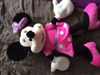 Big Minnie Mouse soft toy