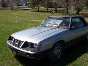 1983 ford mustang convertible sell or trade