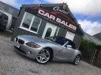 BMW 2.5 AUTO/TIPT Z4 ROADSTER CABRIOLET (190BHP) WITH UPGRADES PX FINANCE WELCOM