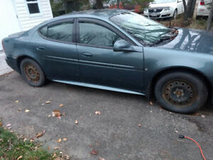 2006 Grand Prix GT Supercharged. Selling for parts or to fix.