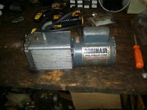 Robinair cfm vacuum pump