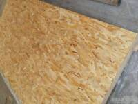Two Compressed board wood osb2