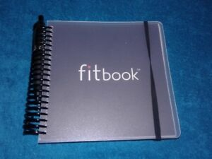 FITBOOK 12 Month Fitness Nutrition Planning Guide Book Journal N