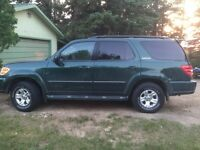 Reduced!!! 4x4-2001 Toyota Sequoia-Must sell!