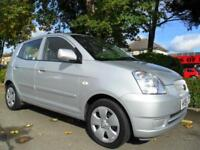KIA PICANTO 1.1 LX 2006 FSH 1 OWNER COMPLETE WITH M.O.T HPI CLEAR INC WARRANTY