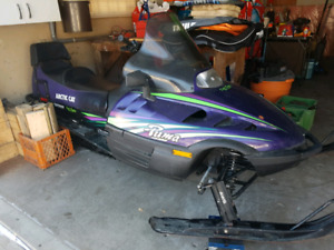 1997 arctic cat sled