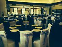 Location de couvre-chaises 1.65$  et boucles 0.60$ (mariage).