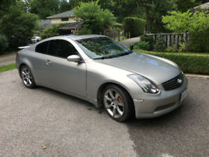 Infiniti G35 coupe,  manual, 2004