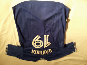 Gently used unofficial mens Toronto blue Jays baseball Jersey