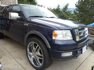 2004 F150 FX4 with Canopy