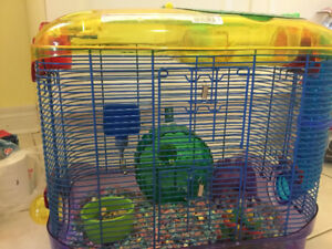 Crittertrail double level cage