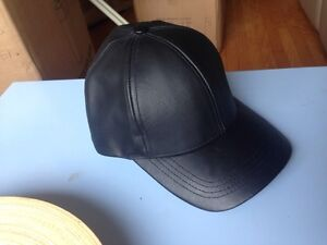 Faux Leather Cap for sale!!