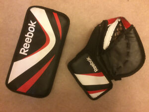 Reebok Street Hockey Catcher/Blocker Ages 8 to 14