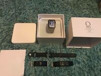 Apple Watch 42mm stainless steel not cheap sports with 4 straps boxed