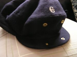 Conte of Florence -wool Dark Blue -tuck away ear flaps-Men West Island Greater Montréal image 5