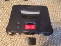 N64 Console with expansion Pak for sale