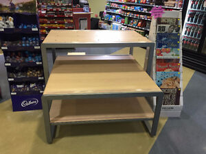 TWO DISPLAY TABLES (originally from Target)