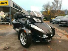 2012 Can-Am SPYDER RT Touring trike in black ABS Radio and more