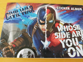 Huge Bundle of Marvel Stickers, Books and Stationery.