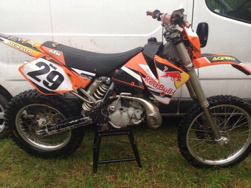 for sale 2001 ktm 200 exc 2 stroke in bishop auckland county durham gumtree